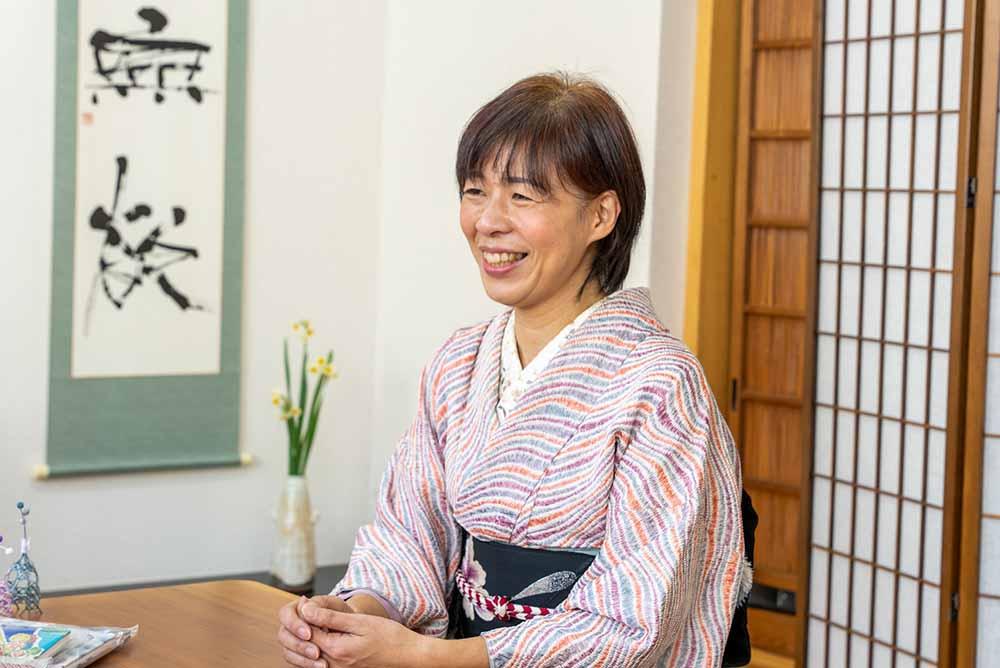今回取材をさせていただいた『ひろしまきもの遊び』には和室もあって、いつも和文化体験が行われています。
